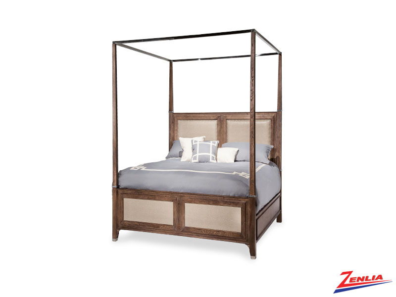 Biscayne West Haze Canopy Bed