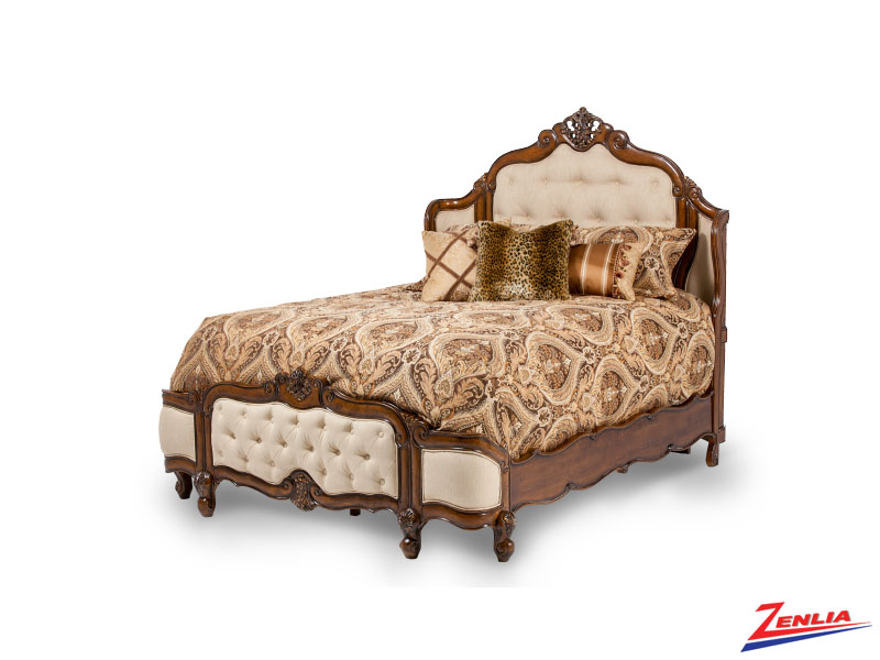 Lavelle Melange Fabric Bed