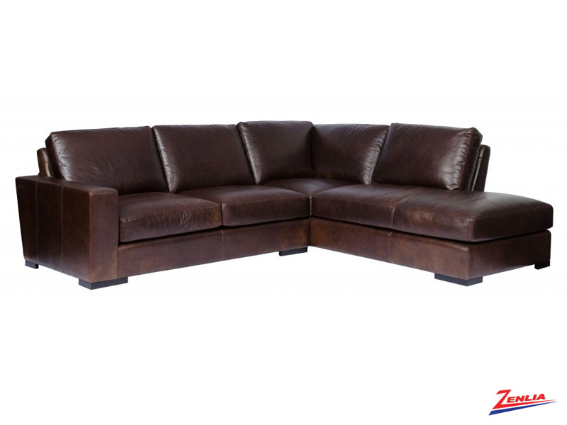 Maxwell Sectional Fabric Leather Sectionals Custom