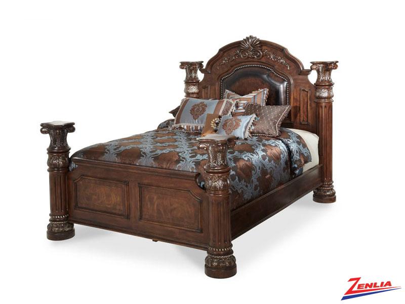 Monte Carlo Il Noir Bed Monte Carlo Ii Bedroom Furniture Aico Furniture Zenlia Home Store