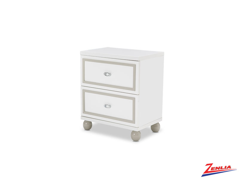 Sky White Cloud Nightstand
