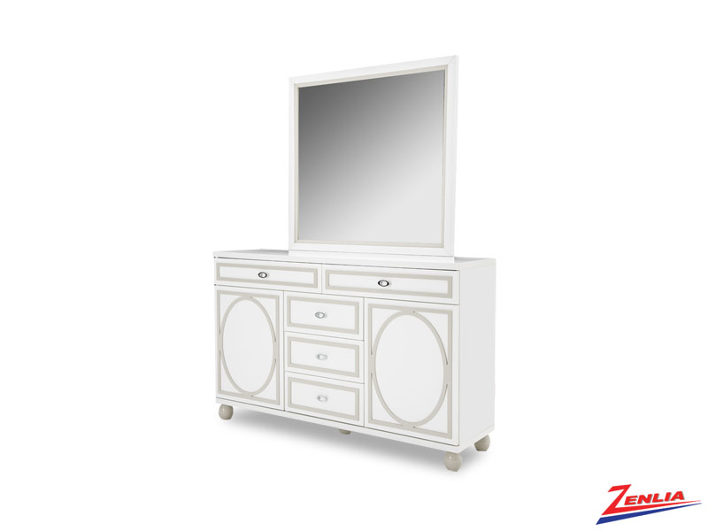 Sky White Cloud Dresser