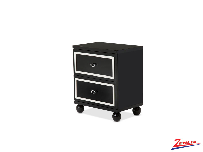 Sky Black Ice Nightstand