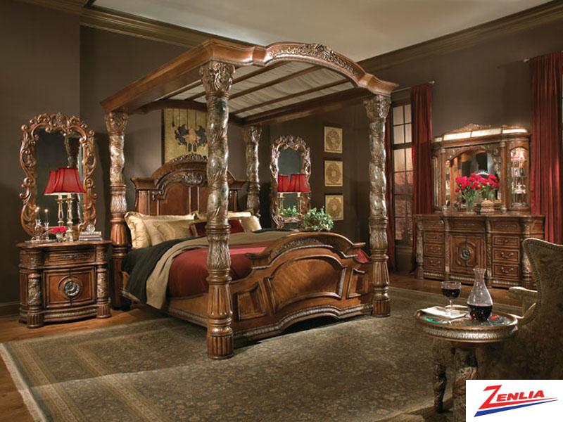 Villa valen dresser villa valen classic bedroom for Classic home villa home collection