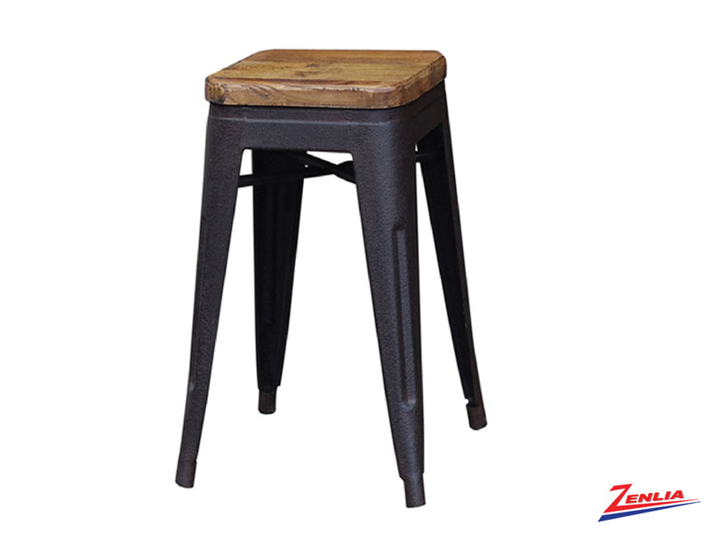 Jacq Counter Stool Rustic Iron