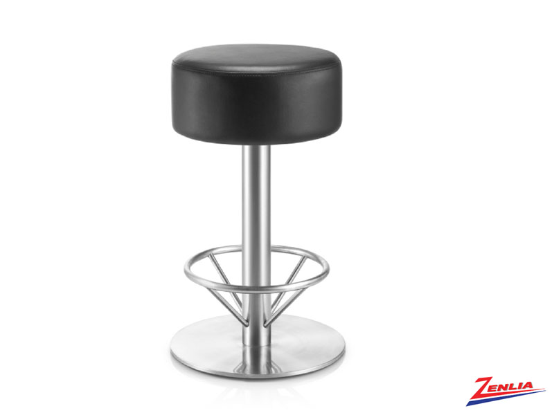 Kip Adjustable Stool Black