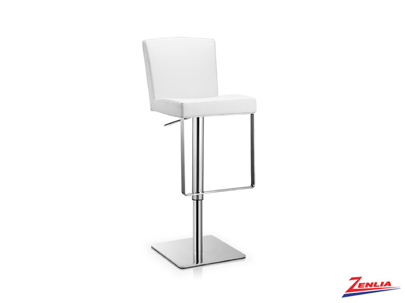 Laz Adjustable Stool White