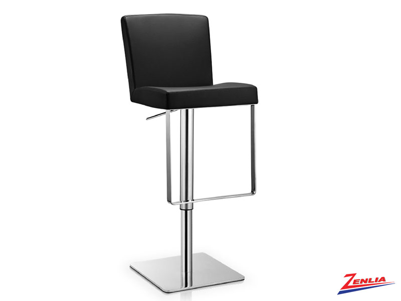 Laz Adjustable Stool Black