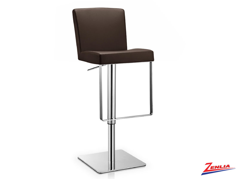Laz Adjustable Stool Brown