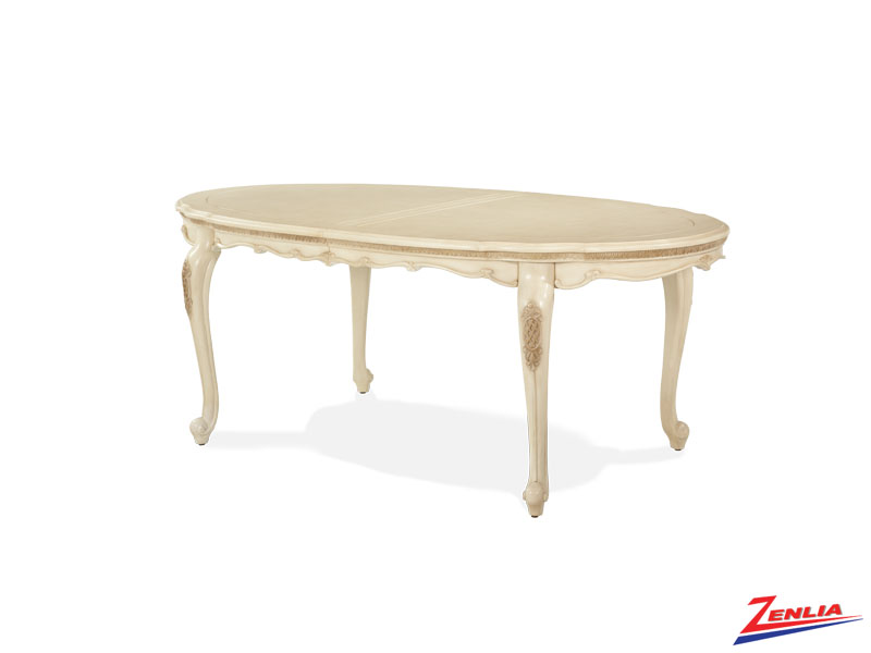 Lave Blanc Leg Dining Table