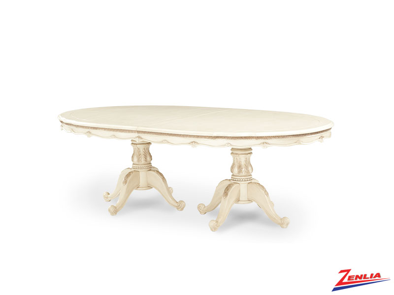 Lave Blanc Palatial Dining Table