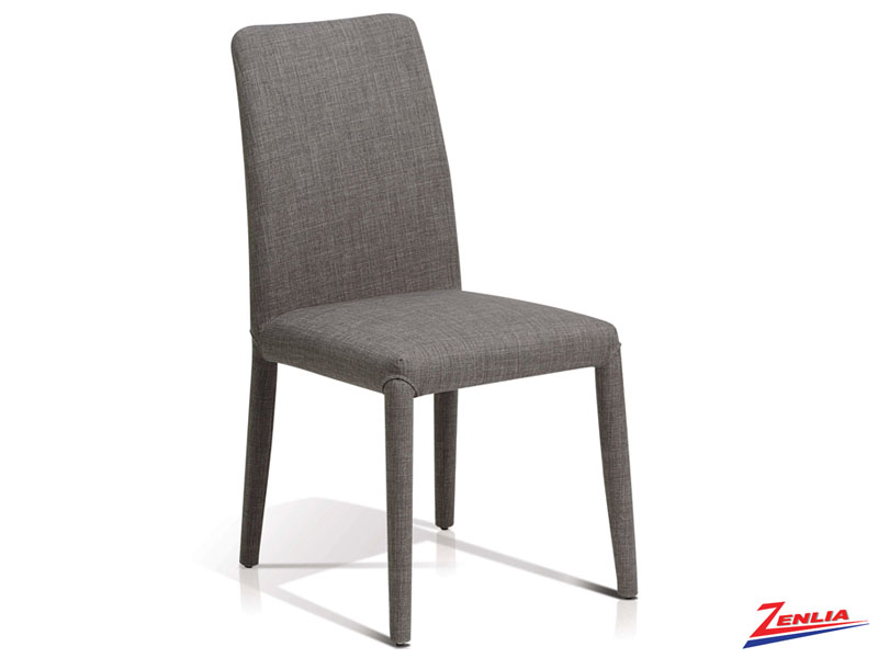 Zan Charcoal Parson Chair