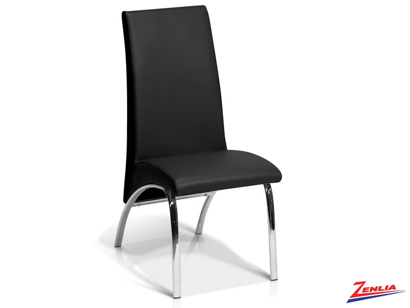 Monac - Side Chair- Black