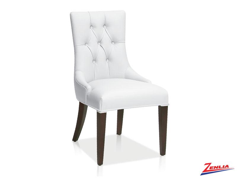 Bori - Tufted Side Chair- White