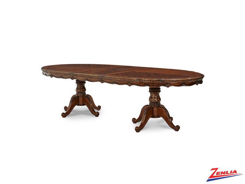 Lave Melan Pedestal Dining Table