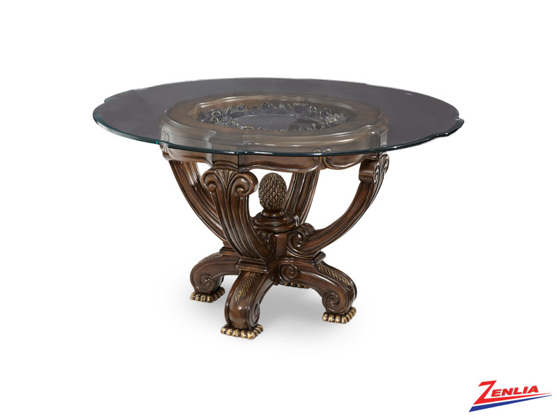 Oppulen Glass Dining Table