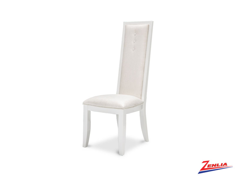 Sky White Cloud Side Chair