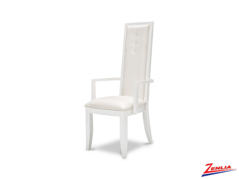 Sky White Cloud Arm Chair