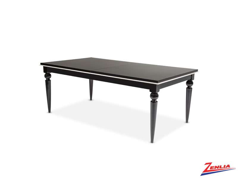 Sky Black Ice Dining Table