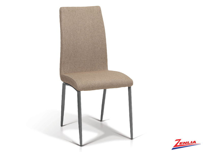 Emil - Side Chair- Brown