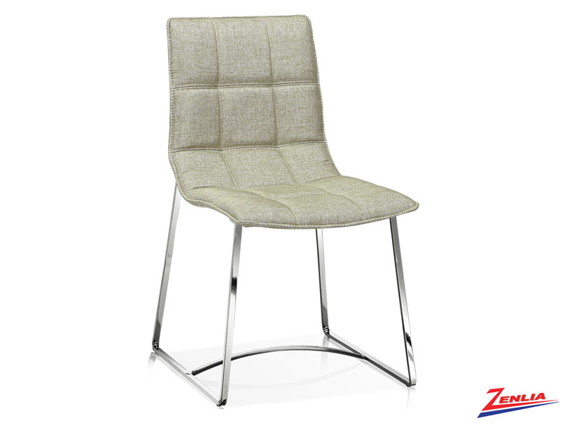 Fost - Side Chair- Silverfox