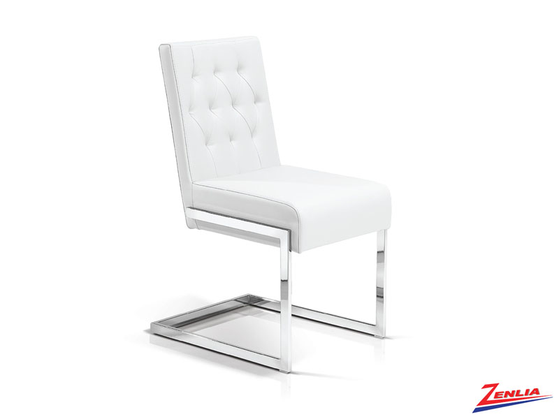 Garb White - Tufted Side Chair