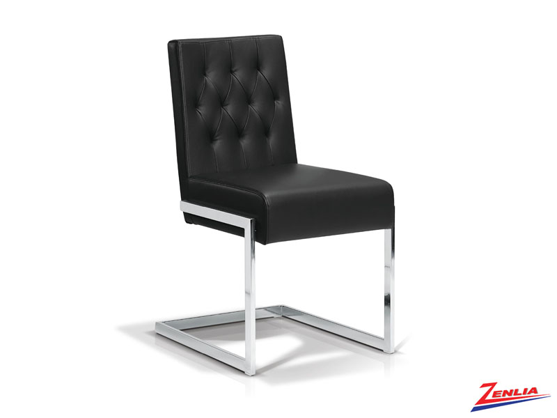 Garb Black - Tufted Side Chair