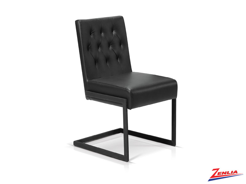 Garb Black Ii - Tufted Side Chair