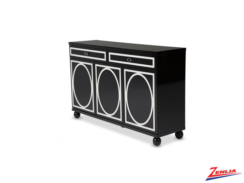 Sky Black Ice Sideboard