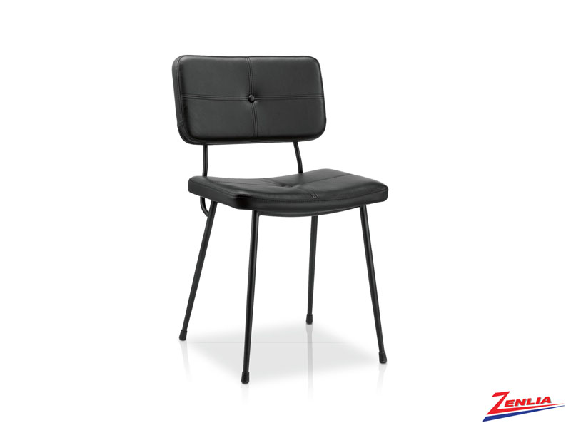 Julia - Side Chair-black