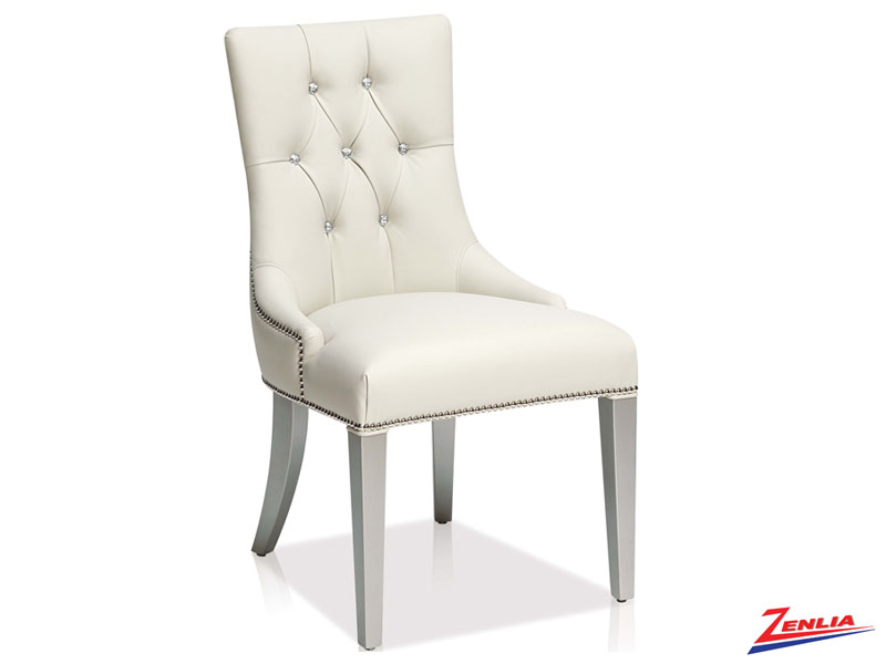 Bori - Tufted Side Chair-silver Ice