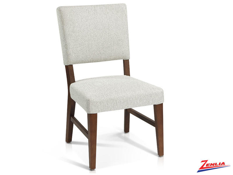 Cloon - Transitional Side Chair- Cobblestone