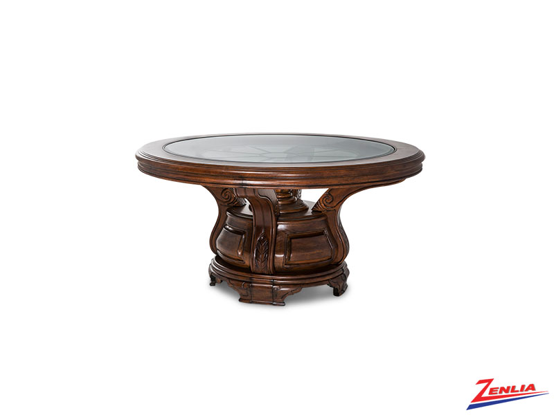 Tusc Melan Round Dining Table
