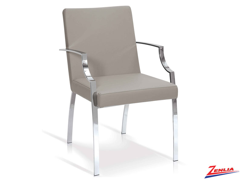 Elle Dove Gray - Arm Chair