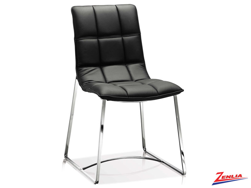 Fost - Side Chair-black