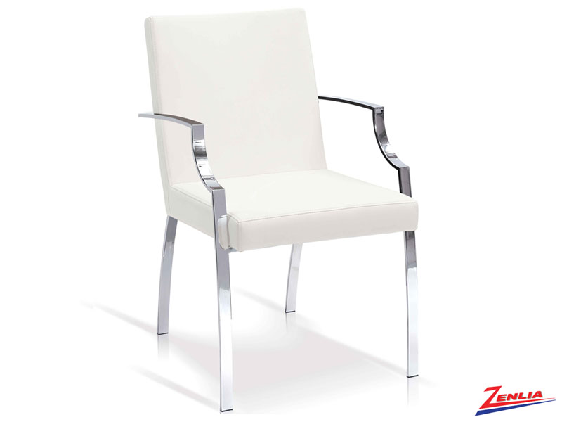 Elle White - Arm Chair
