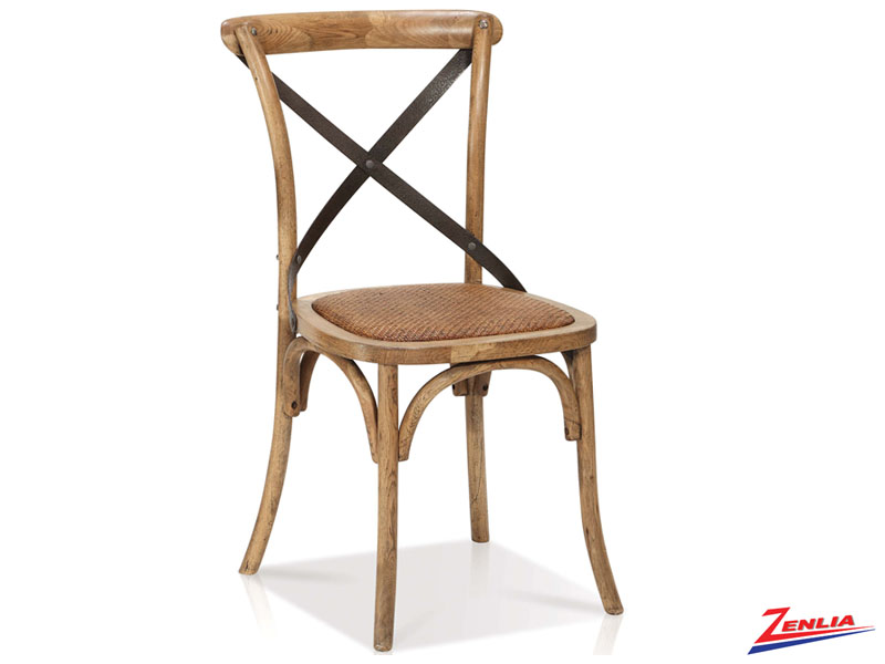 Rev - Cross Back Side Chair