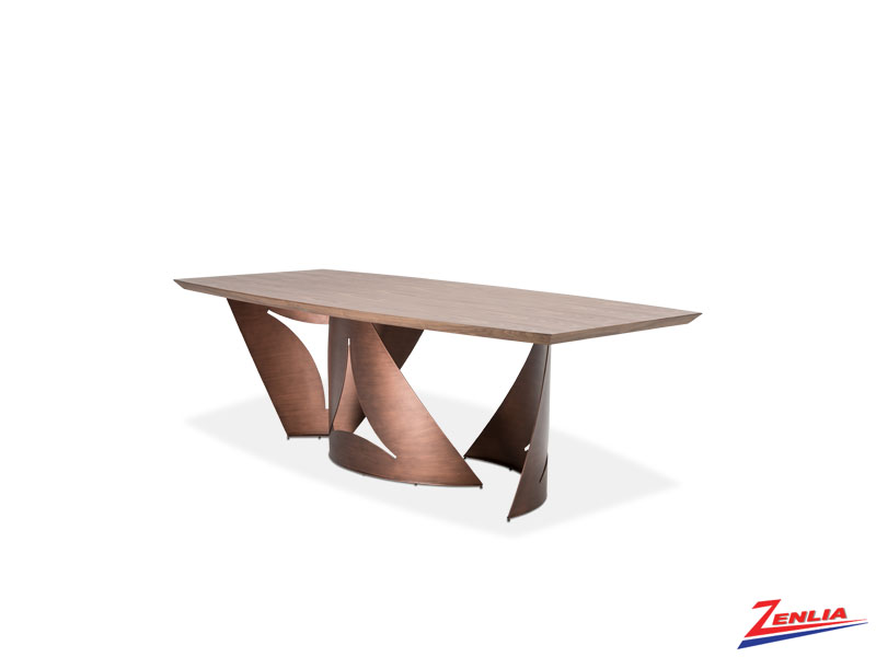 Tranc Rectangular Wood Dining Table