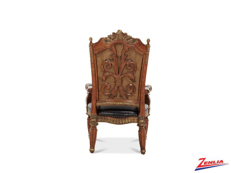Villa valen arm chair villa valen classic dining for Classic home villa home collection