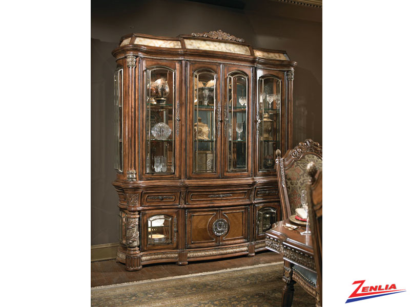 Villa valen buffet classic buffets and hutches dining for Classic home villa collection