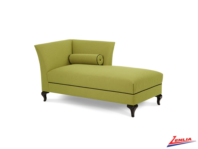 After Up Green Laf Chaise