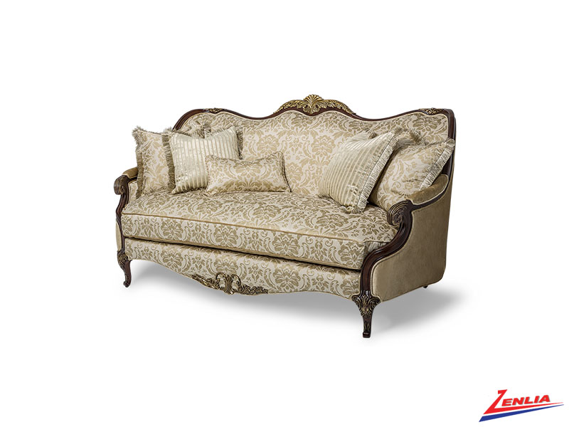 Imperial Wood Trim Sofa