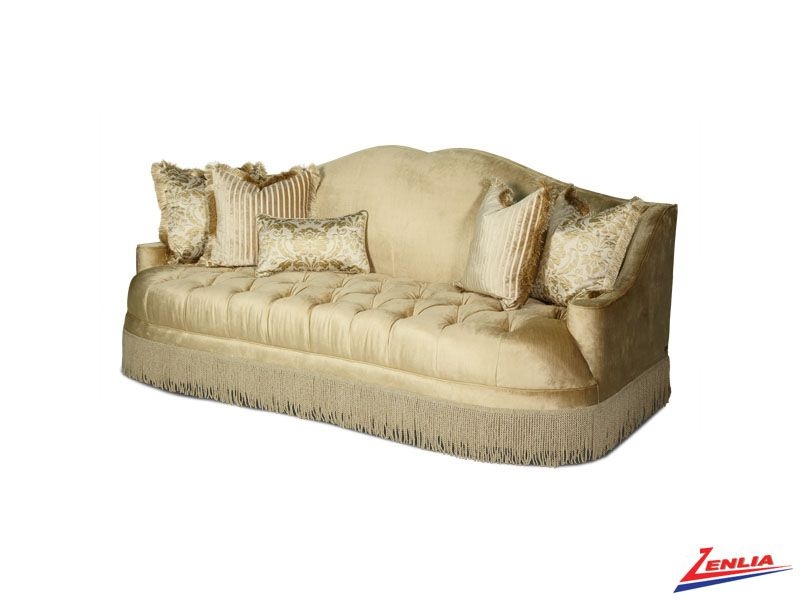 Imperial Pearl Tufted Sofa