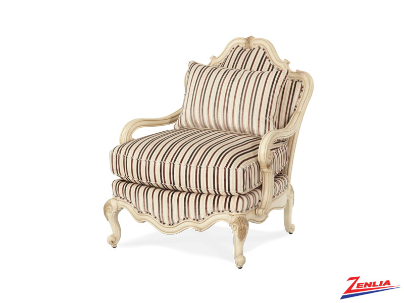 Lave Blanc Bergere Chair