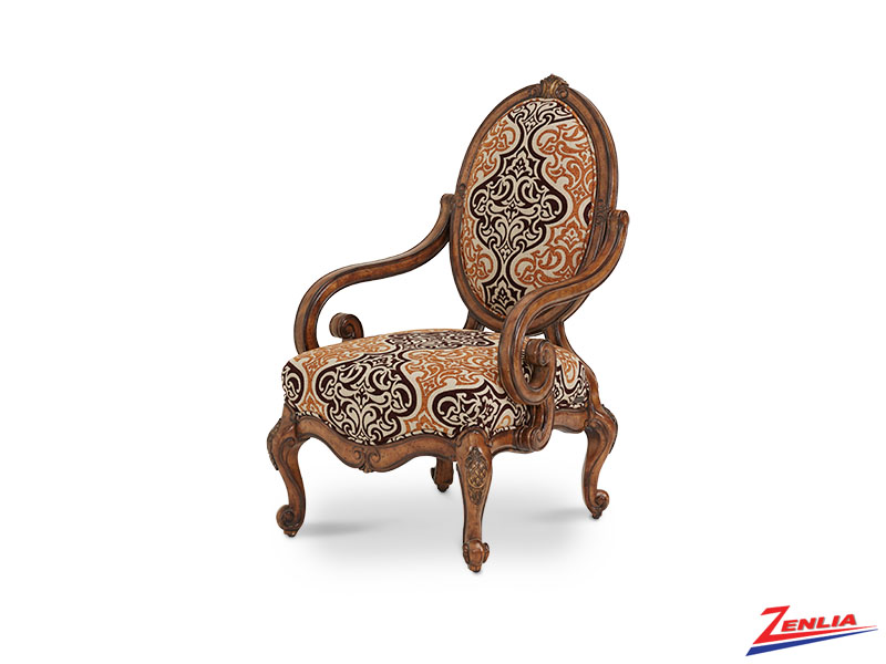 Lave Melan Oval Wood Chair