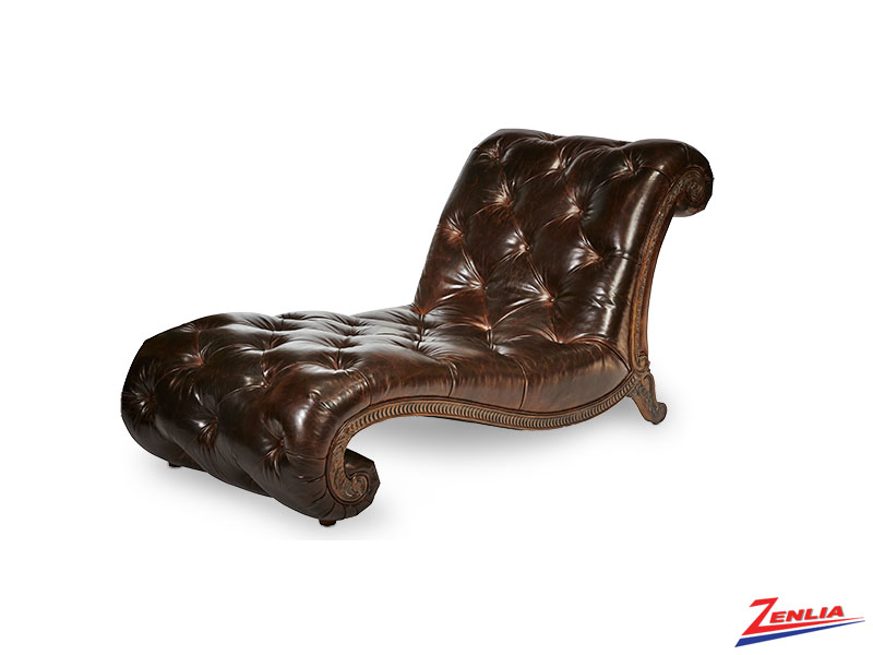 Victoria Leather Chaise