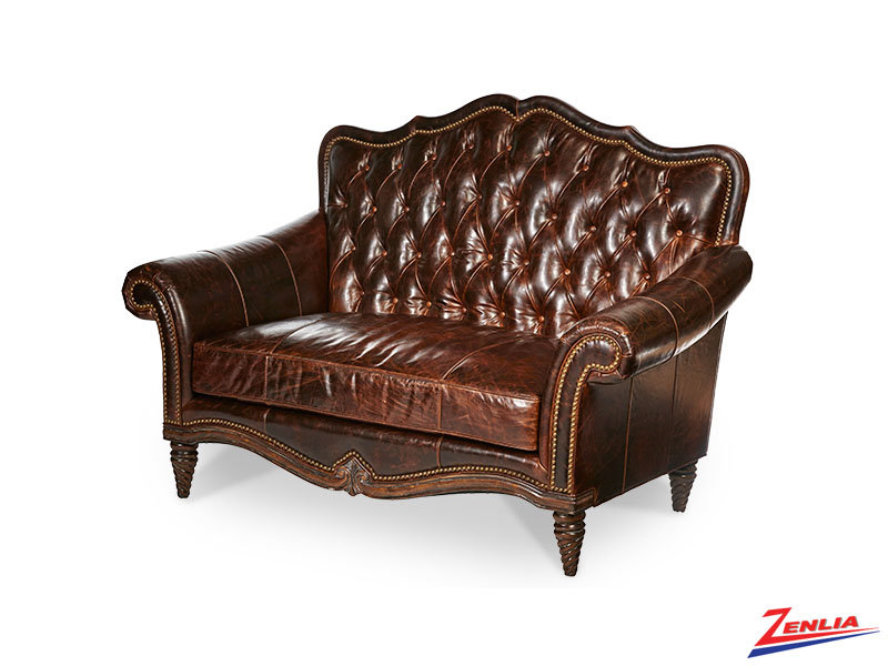 Victoria Leather Settee