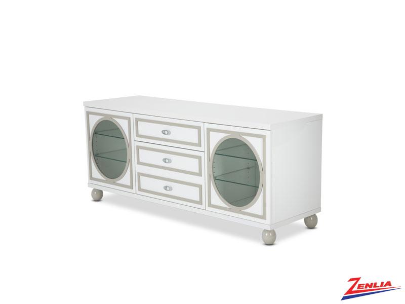 Sky White Cloud Tv Cabinet