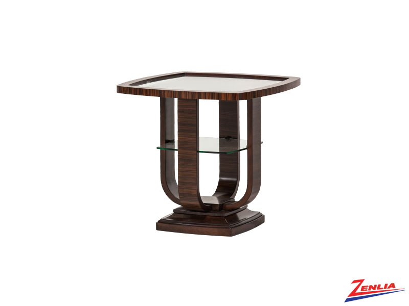 Cloc End Table