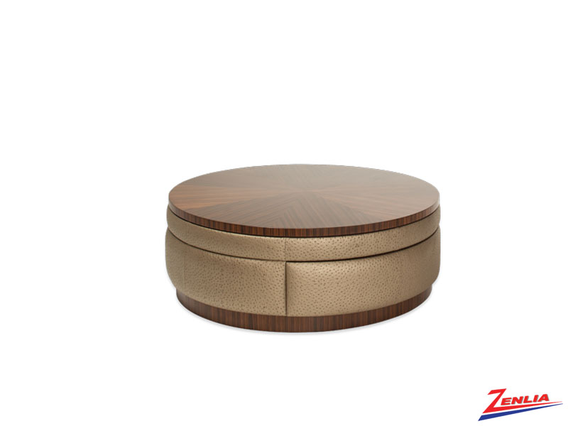Cloc Round Swivel Cocktail Table